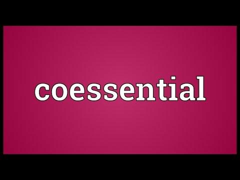 Header of coessential