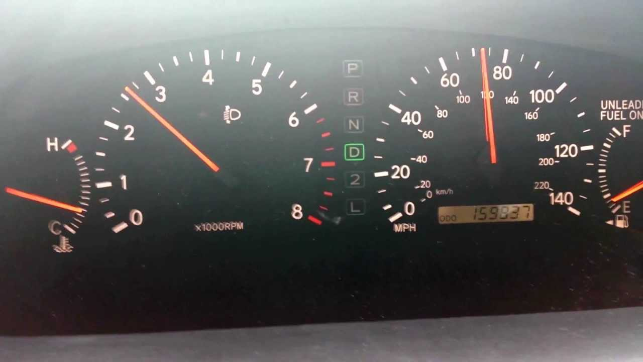 hight resolution of reset sensors on 2000 lexus es300 fixed overdrive not engaging youtube
