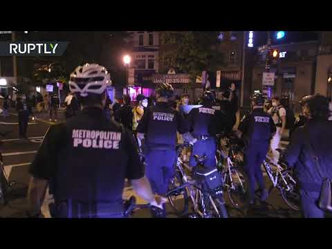 Protests erupt in DC after Breonna Taylor case decision