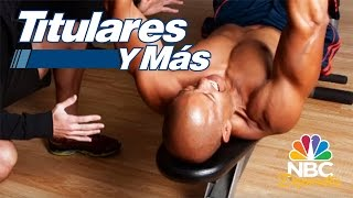 Pedro Telemaco: Pasión por la actuación, deporte y ejercicio | Titulares y Más | NBC Deportes