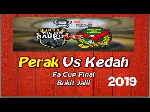 Final FA CUP 2019: Perak vs Kedah, apa kata fans TBG.