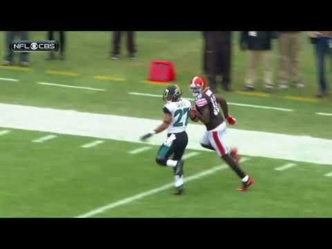 Highlights of Josh Gordon's back-to-back 200 yard games in 2013