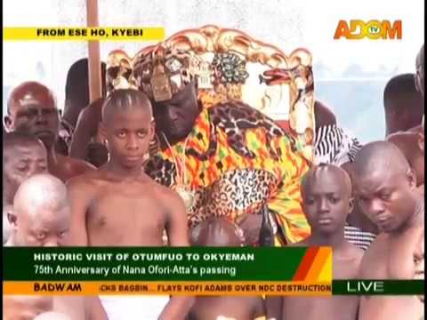 75th Anniversary of Nana Ofori-Atta's passing on Adom TV (23-8-18)