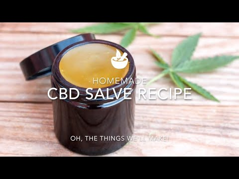 Homemade CBD Salve Recipe