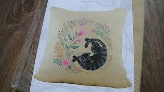 """ВТ-222 Набор для вышивания подушки крестиком Crystal Art Серия """"Летний сон"""""""
