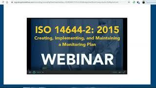 ISO 14644 2015  Чистые помещения  Мониторинг чистых помещений
