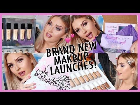 new makeup unboxing! 🔥 HUGE PR HAUL & Giveaway! shaaanxo thumbnail