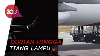 Download Video Usai Insiden Durian di Bandara Fatmawati kini Lion Air Tabrak Tiang MP3 3GP MP4