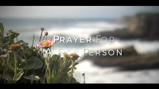 Image of Prayer For A Sick Person HD video
