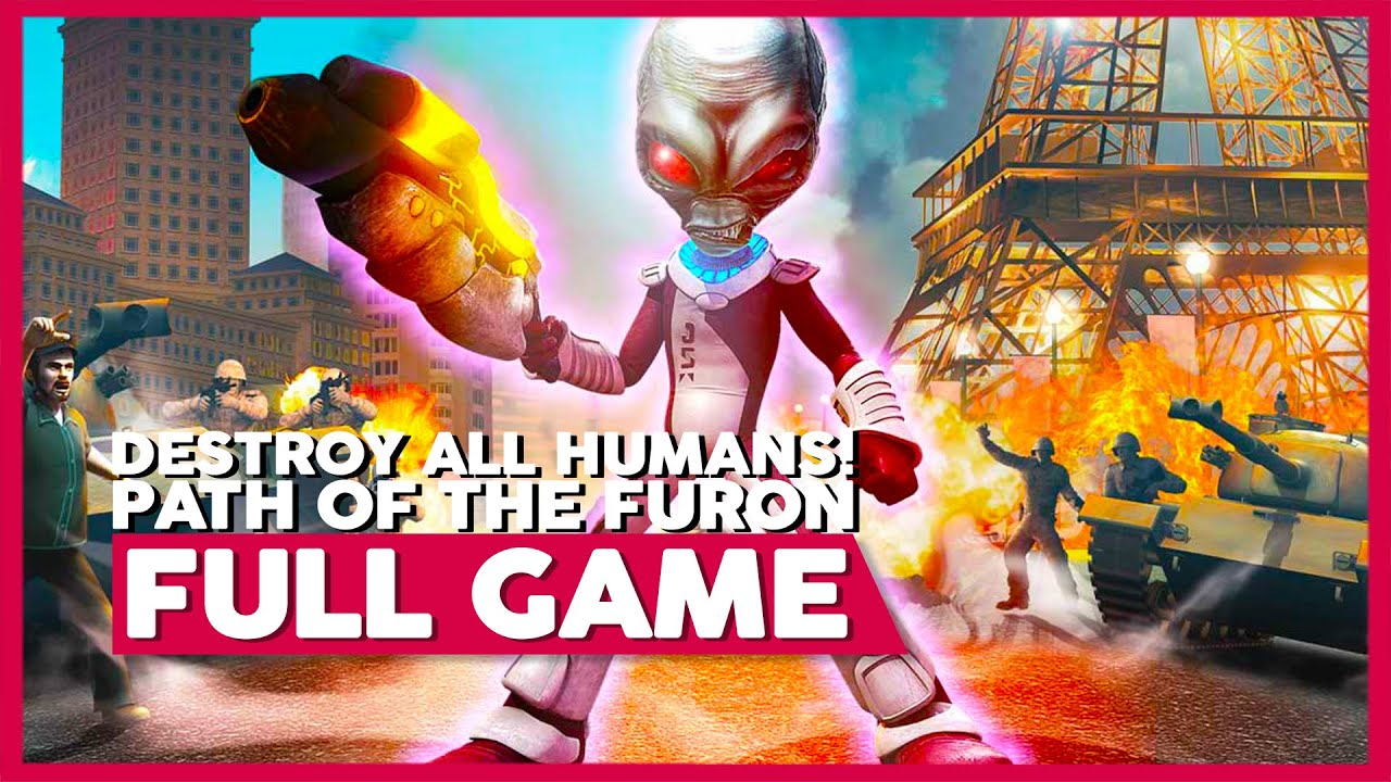 Destroy All Humans! Path of the Furon | Full Playthrough | No Commentary [PS3,X360]