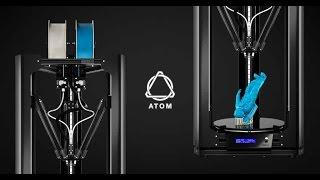 ATOM 2.5 EX 3D Printer Official Video [HD]