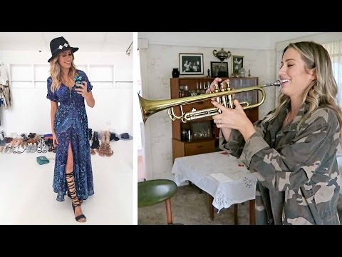 Cleo Magazine Shoot and Failing at Playing Trumpet🎺  | Karissa Pukas Vlog