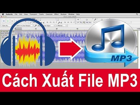 Làm thế nào để xuất File MP3 trong Audacity 2016 - Lame.buanzo.org