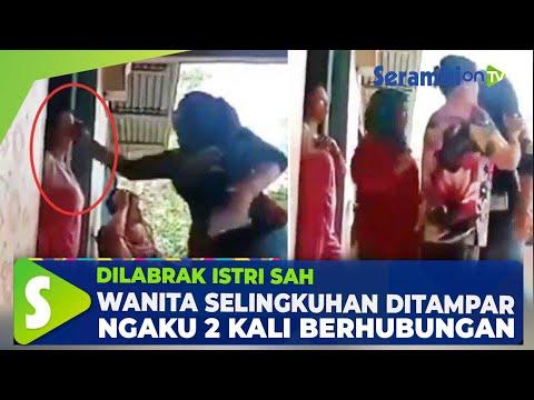 Wanita Selingkuhan Ditampar dan Ngaku 2 Kali Berhubungan, Video saat Dilabrak Istri Sah Viral Lagi