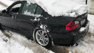 BMW 3.20d M Kar Performansı / Snowy Performace / Schneeleistung ❄️ -1C