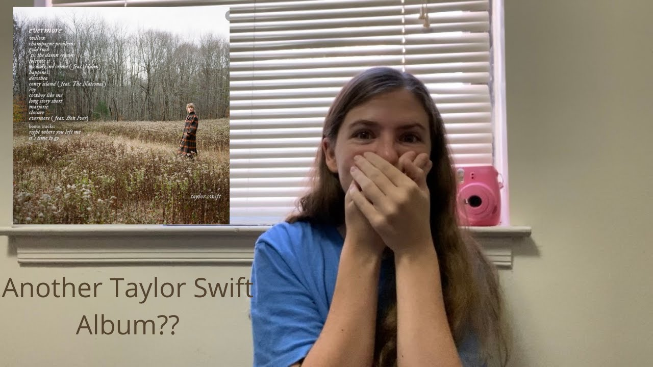 Taylor Swift is dropping her NINTH studio album?! (Let's talk about evermore)