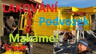 Škoda 130 Lakování, Podvozek SUPER VLOG!! :) BEZ KOMPRESE (: RALLY, ŠKODA 130 L/A JEDEME