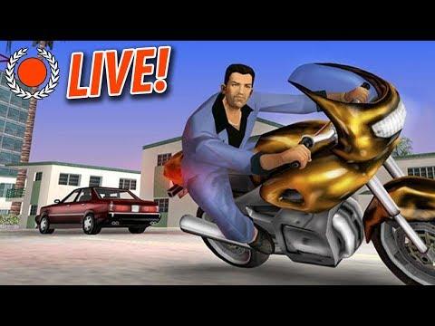 """OMG DOE EEN ANDERE GAME!"" - GTA: Vice City - Livestream!"