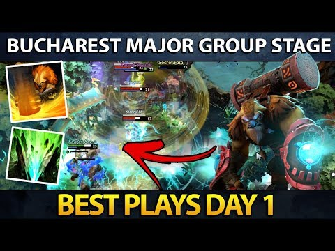 Dota 2 The Bucharest Major - Best Plays - Day 1 thumbnail