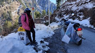 Bike Trip To Harsil Valley | Gangotri In December
