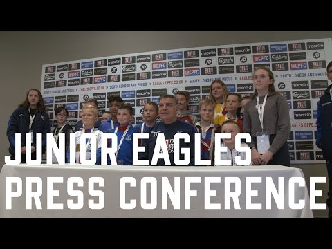 Junior Eagles | Press Conference with Sam Allardyce