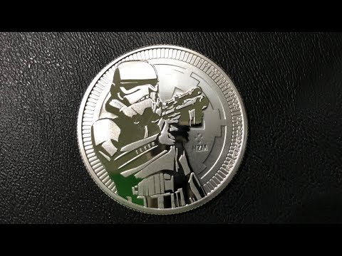 Stormtrooper 1 oz Silver Coin | Star Wars Bullion Review
