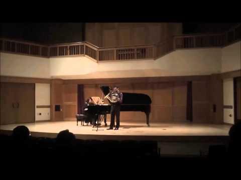 Scott's Senior Recital