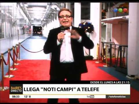 Llega Noti Campi a Telefe – Telefe Noticias