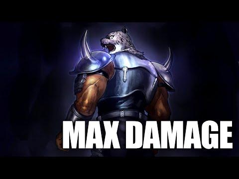 【Tekken 7】 Max Damage - Armor King