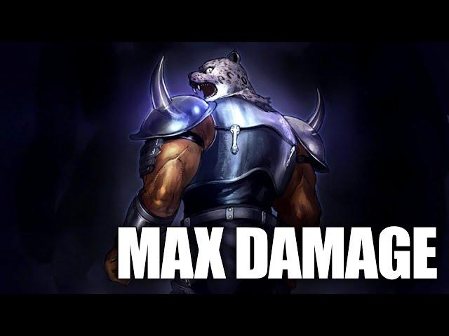 �Tekken 7】 Max Damage - Armor King