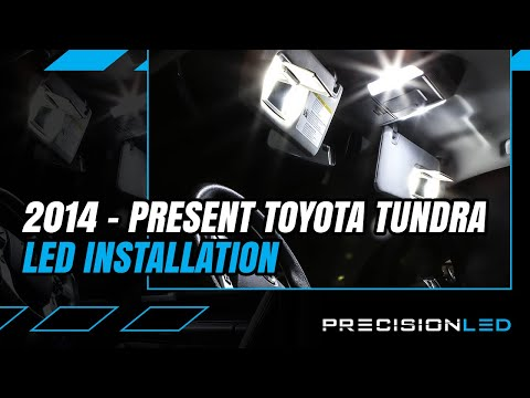 Toyota Tundra LED Interior How To Install – 3rd Gen | 2014 – Present