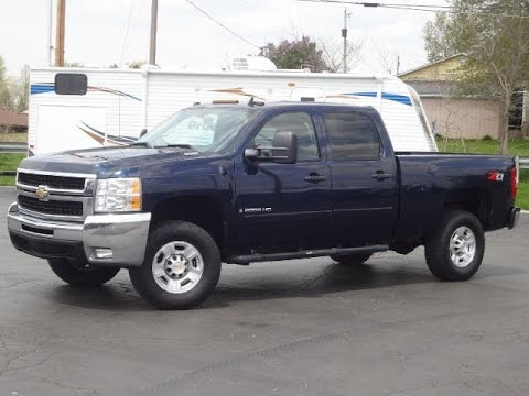 2008 chevy 2500hd lt 4x4 duramax diesel for sale youtube. Black Bedroom Furniture Sets. Home Design Ideas