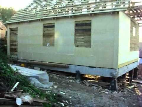 ЭКСКУРС  Каркасное строительство дома в Томске
