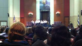 Jewish Fella A Cappella, Brandeis University, First Song
