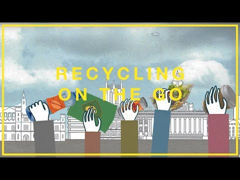Why we need to recycle on the go I Hubbub Campaigns