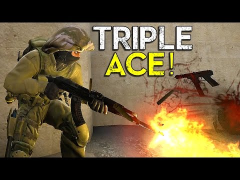 TRIPLE ACE! - CS:GO - Climbing The Ranks - EP.1