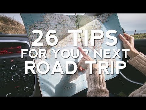 26 Road Trip Essentials and Tips