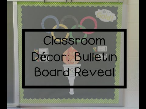 Back to School: Bulletin Board Set-up