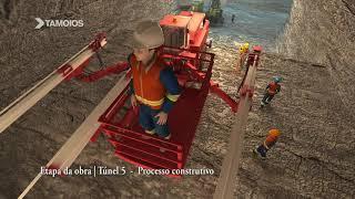 Rod. dos Tamoios Trecho de Serra - Obras de Construção