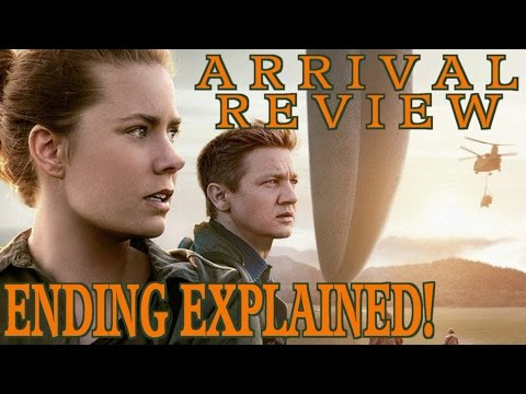 ARRIVAL  Movie  w/ Spoilers  Ending Explained!