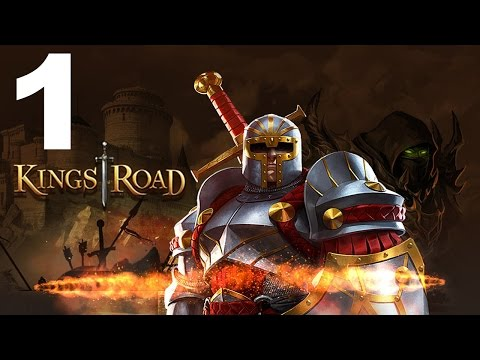 KingsRoad - Gameplay Walkthrough Part 1 - Story Quests 1-4 (iOS, Android)