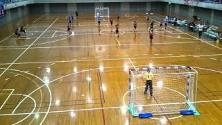2016/04/23 ハンドボール 高校総体 東部(4) vs御殿場(赤)