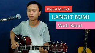 Download lagu ( KUNCI GITAR & LIRIK ) LANGIT BUMI - Wali Band | Chord Mudah