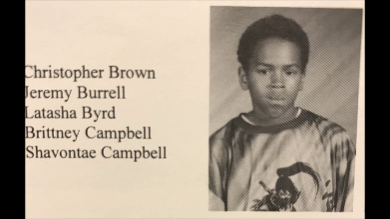 Chris Brown Donates $50,000 to Middle School   Magic 103.7   Chris Brown School Pictures