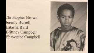 Chris Brown's first Demo CD