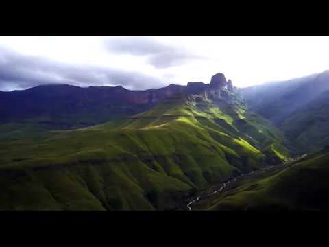 Drakensberg at its finest. Marble Baths Hike and Drone Footage