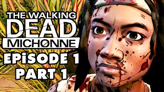 The Walking Dead: Michonne - Episode 1: In Too Deep - Gameplay Walkthrough Part 1 (PC)