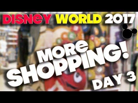 WALT DISNEY WORLD 2017 - ORLANDO FLORIDA - DAY 3 - SHOPPING & ANIMAL KINGDOM