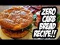 Zero Carb Bread Recipe!! CLOUD BREAD