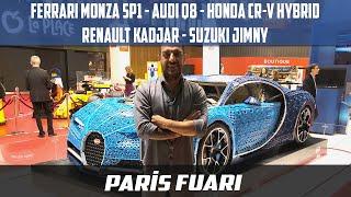Ferrari Monza SP1 | Audi Q8 | Honda CRV | Renault Kadjar | Suzuki Jimmy